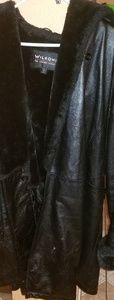 Women Wilson leather coat